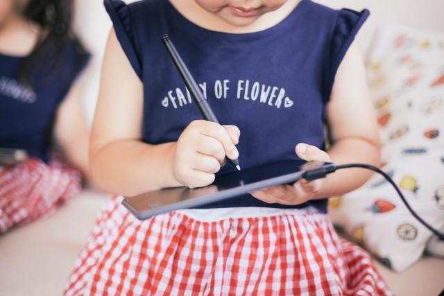 幼児タブレット学習