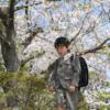 入学式と桜