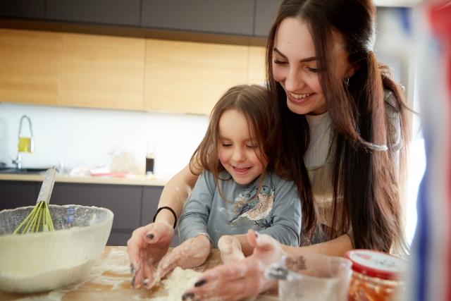 子供とお菓子作り