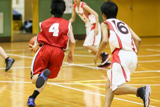 子供バスケットボール