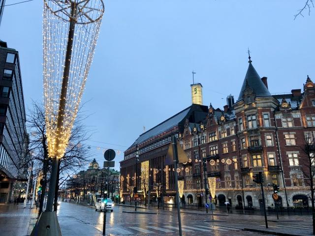 フィンランドの首都ヘルシンキ