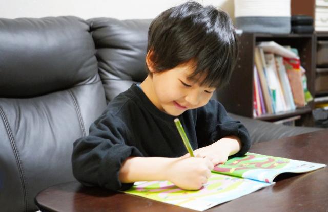 学習習慣が身に付いた子供
