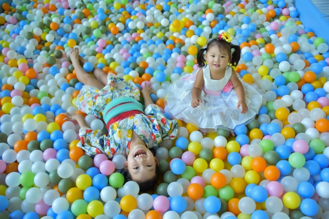 幼児の遊び
