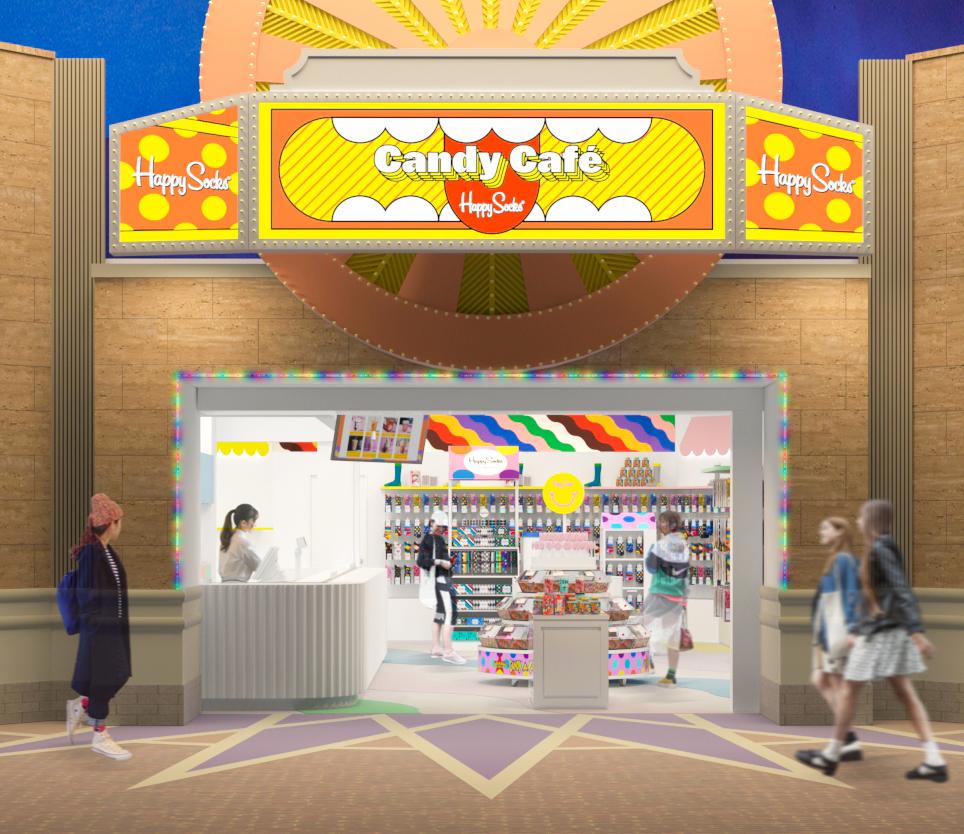 Happy Socks Candy Café